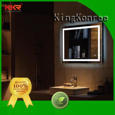 KingKonree small decorative mirrors customized design for toilet