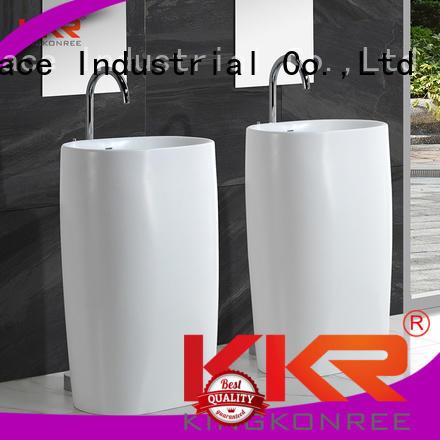 bathroom free standing basins faux unique kkr KingKonree Brand company