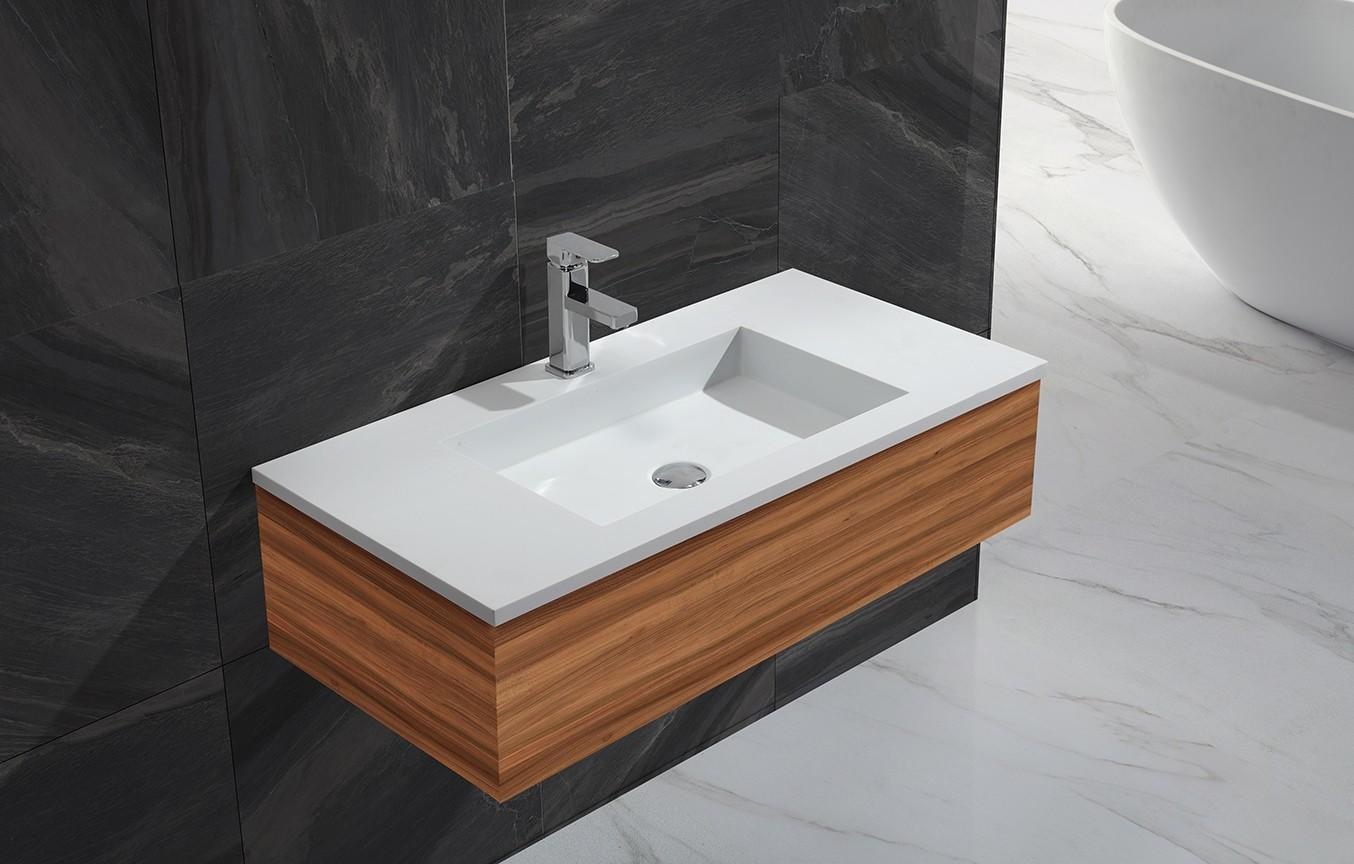 straight small basin with cabinet sinks for bathroom KingKonree-1