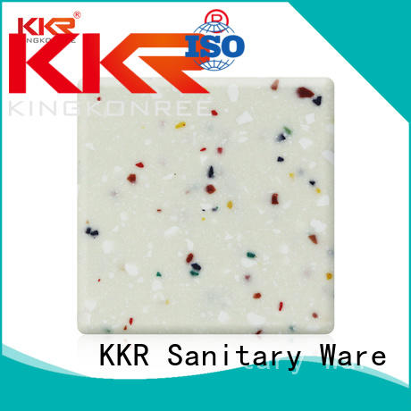 Hot length acrylic solid surface sheet solid KingKonree Brand