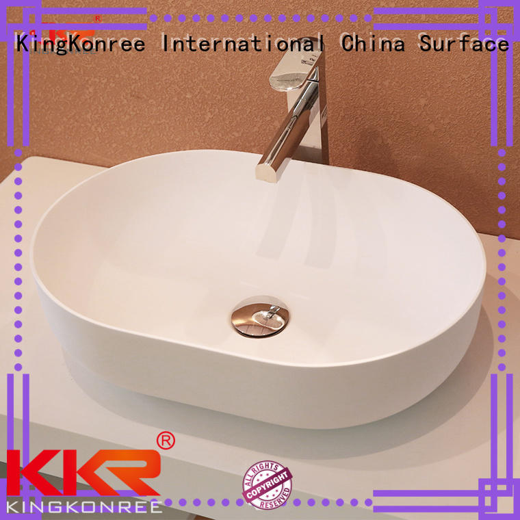 ware kkr acyrlic above counter basins countertop KingKonree Brand