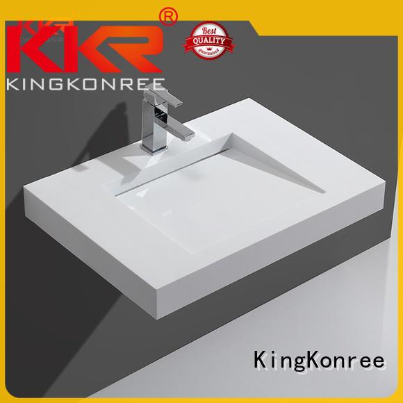 KingKonree soild surface sanitary ware manufactures gray fot bathtub