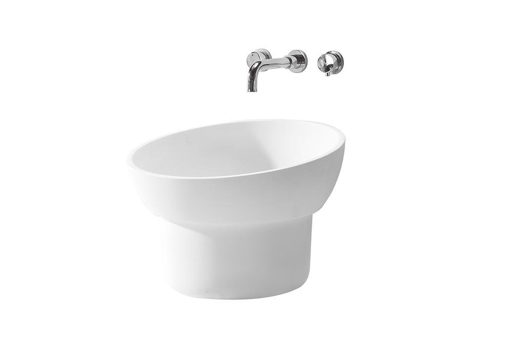 KingKonree solid surface basin for wholesale for bathroom-1