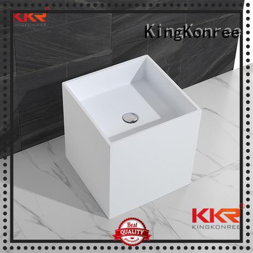 bathroom free standing basins stand solid faux KingKonree Brand