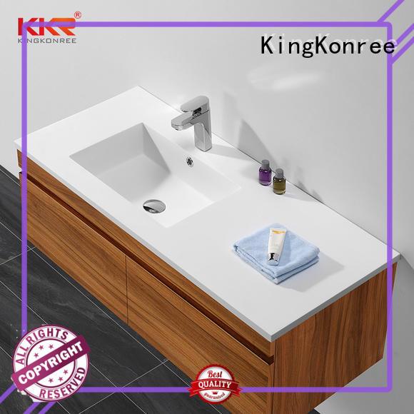 wooden toilet wash basin supplier for hotel