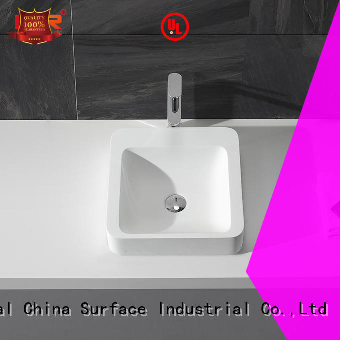KingKonree pure above counter vessel sink supplier for home